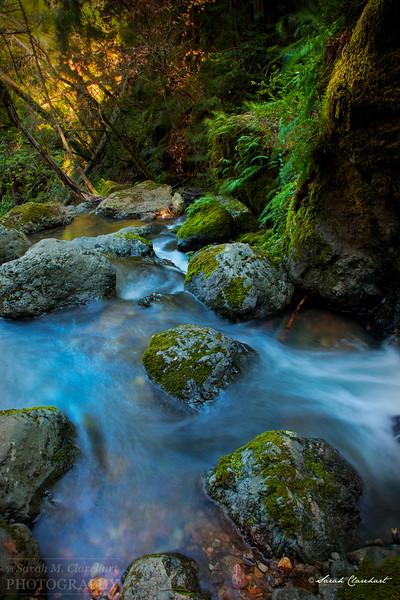 Waterfalls, Streams and Lakes