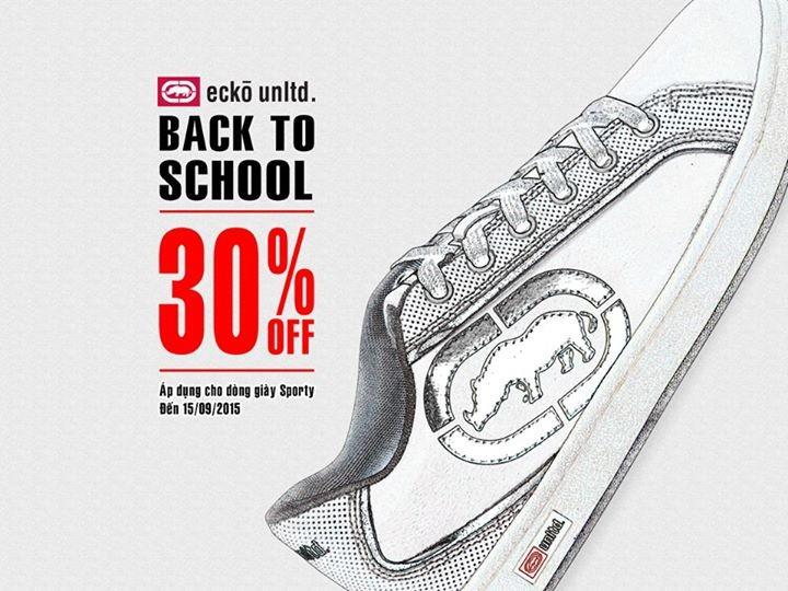 (Thời Trang ECKO Unltd) Giảm giá 30% cho các dòng giày Sporty