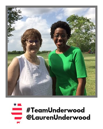 #TeamUnderwood @LaurenUnderwood