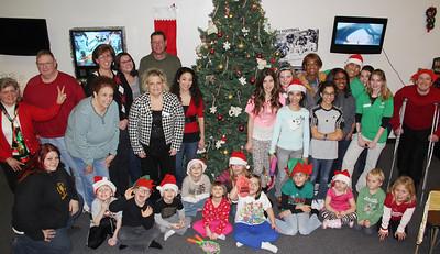 Community Christmas Party, YMCA, Tamaqua (12-20-2013)