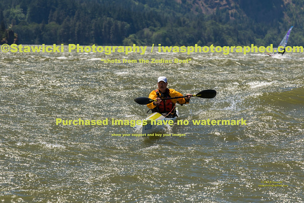 Vento to Hood River -  Surf-Ski, Outrigger, Canoes