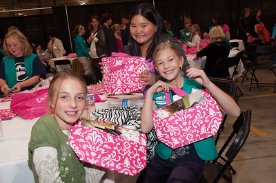 11.7.2012 - Girl Scouts at Home Office