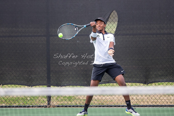 Spring 2019:  Boys Varsity Tennis vs. GDS