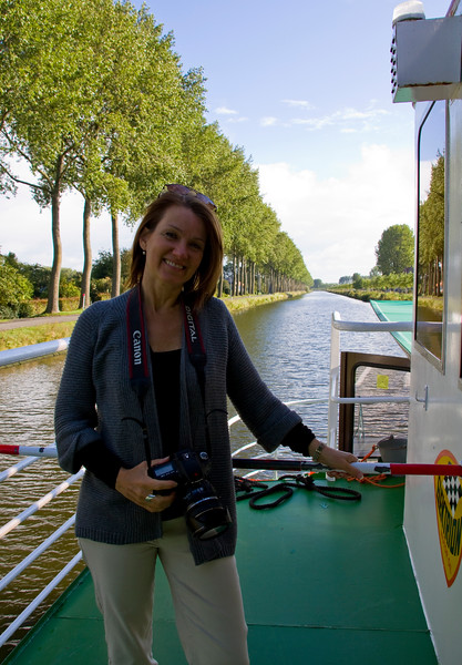 Beautiful canal ride to the small town of Damme