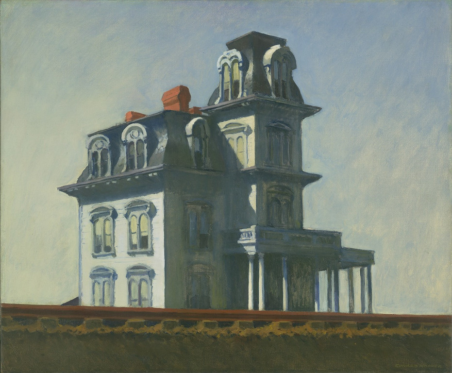 edward hopper's house by the railroad