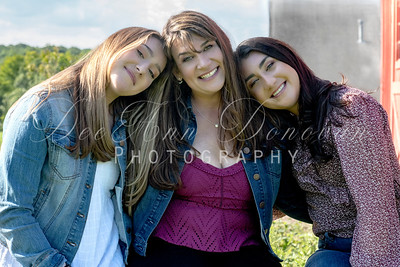 Marcie and her daughters