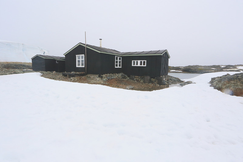 British Wordie House,Winter Island. 65˚15'S, 64˚16'W Located in the Argentine Islands.  Est 1935-Closed in 1954.rgentine Islands.  Est 1935-Closed in 1954.