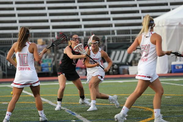 UA lacrosse All America Girls game 2016