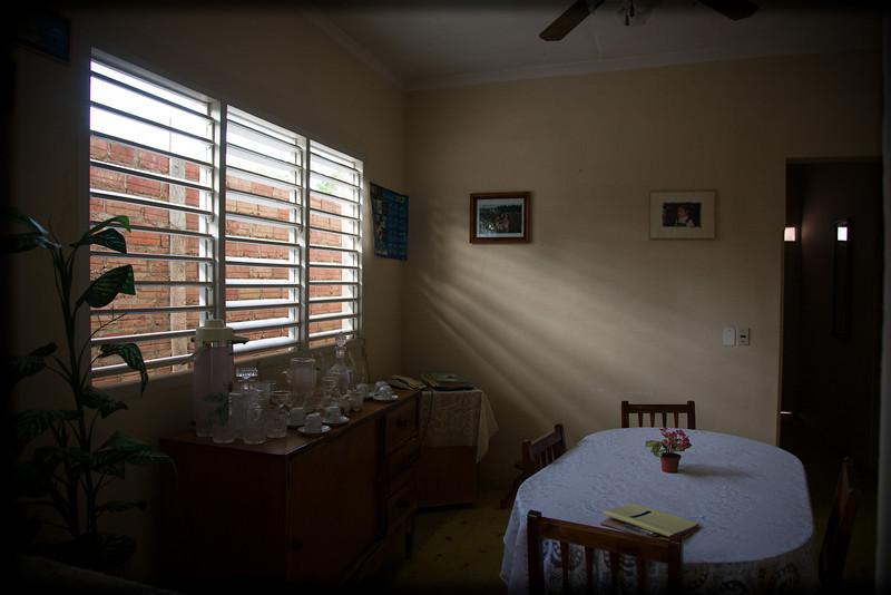 Dining room at my trinidad home