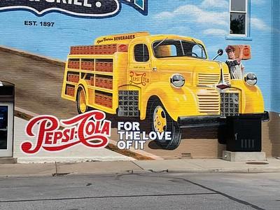 Pepsi/Alabama Bar & Grill Mural 2019