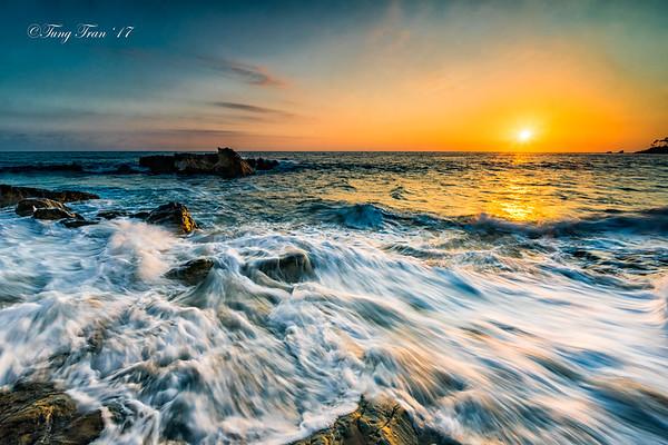 Laguna Beach Sunset 9-17-2017