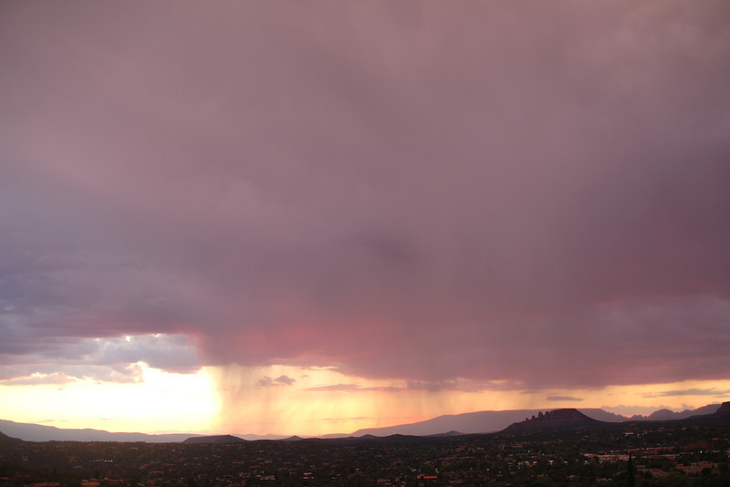 the  almost everyday late afternoon thunderstorm brewing