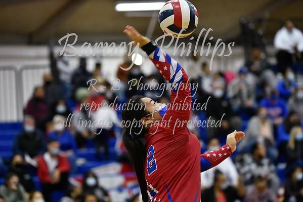 Washington Patriot Volleyball 10-21-2021.....by Barney