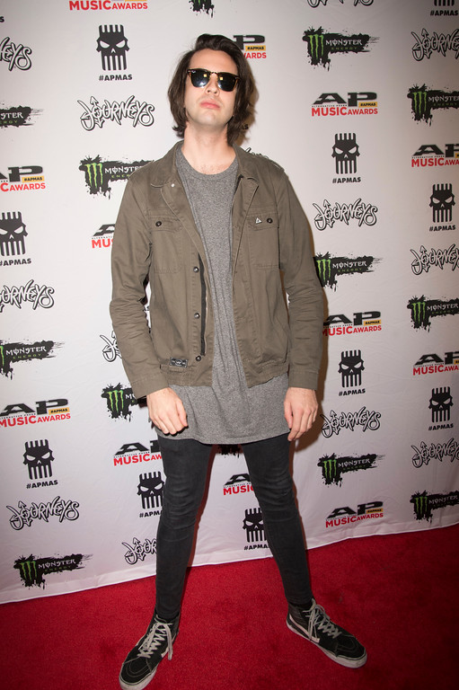 . Jayden Seeley seen at 2017 Alternative Press Music Awards at the KeyBank State Theatre on Monday, July 17, 2017, in Cleveland. (Photo by Amy Harris/Invision/AP)