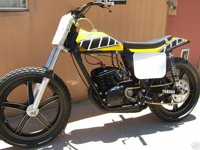 1975 YZ 400 short track