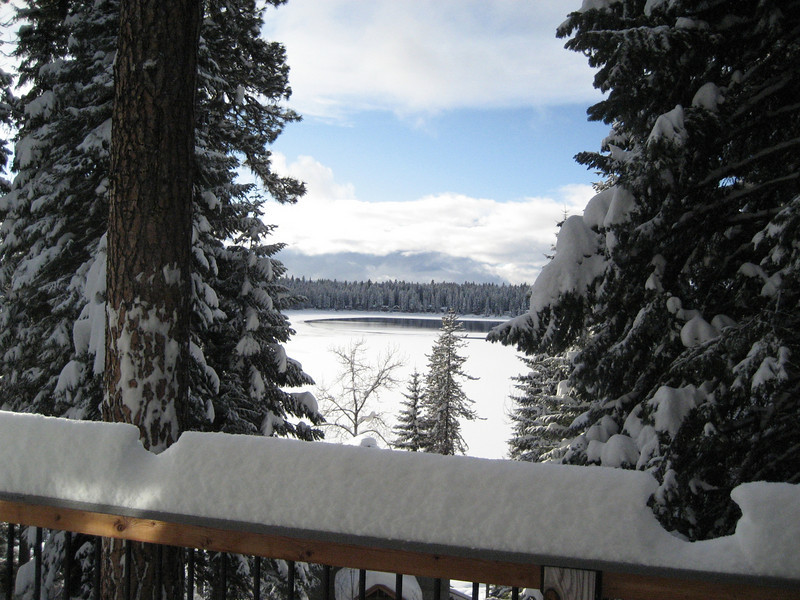 Views of Payette Lake from the Cabin