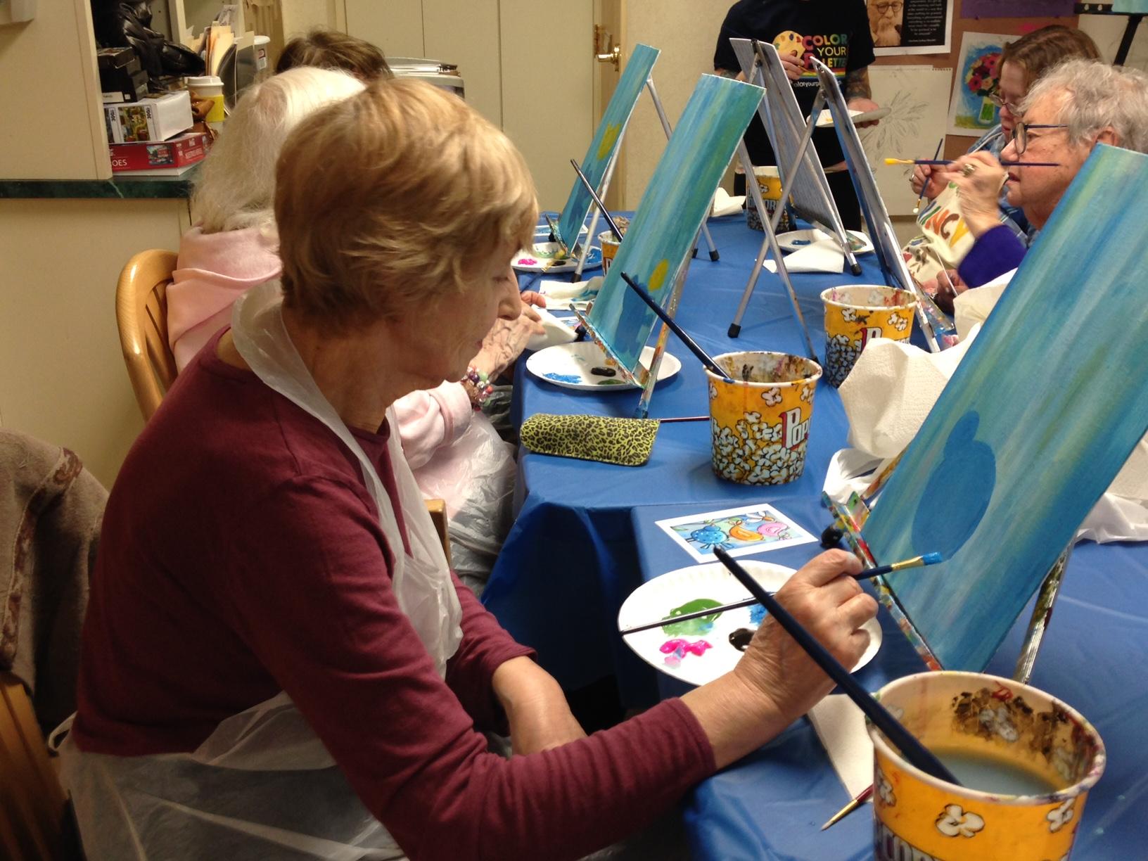 RMHA  Painting Event May 4, 2016