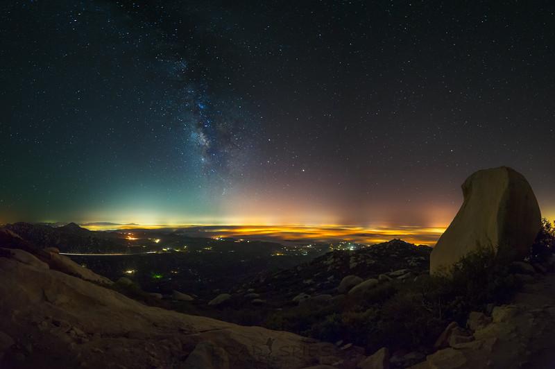 Foggy Milky Way