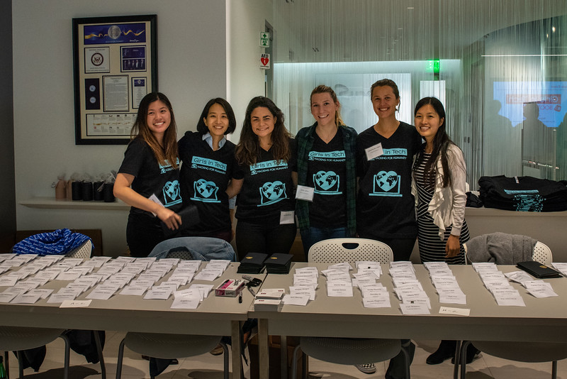 Hacking for Humanity with Girls in Tech SF - Marie-Rose Ramboz