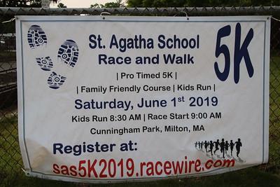 St Agatha 5K Road Race