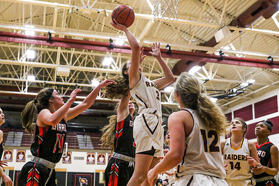 South Range vs Girard Girls Basketball 2-3-20