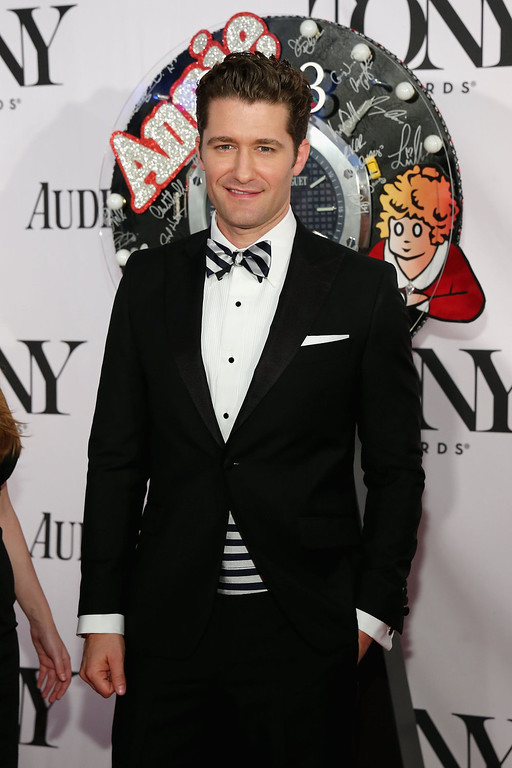 . Actor/Singer Matthew Morrison attends The 67th Annual Tony Awards  at Radio City Music Hall on June 9, 2013 in New York City.  (Photo by Neilson Barnard/Getty Images)