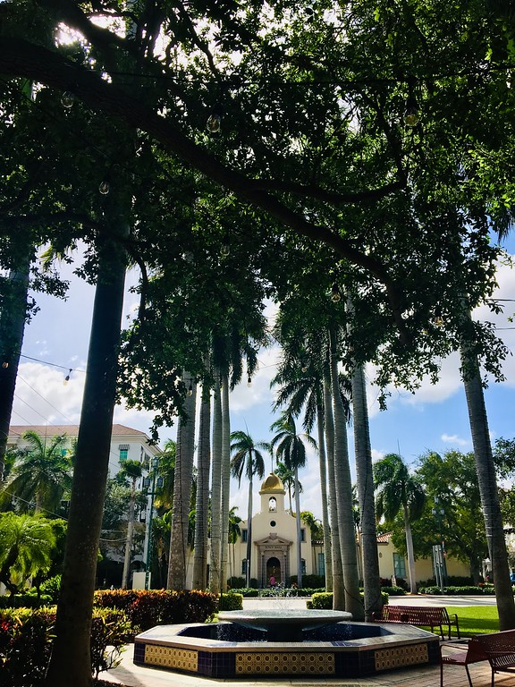 Mizner Park, Boca Raton is a top thing to do in south florida