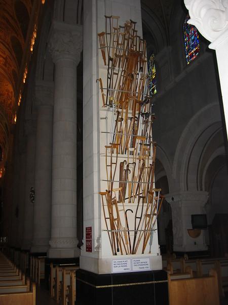Crutches of the Healed
