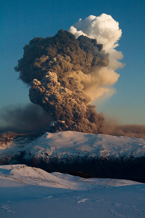 Eyjafjallajökull 17.apríl 2010