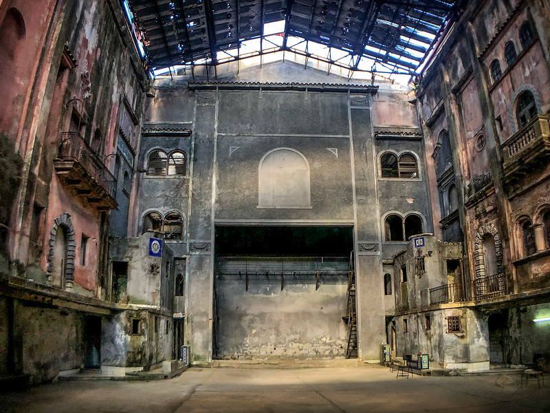 Abandoned  Theater in the heart of Old Havana...