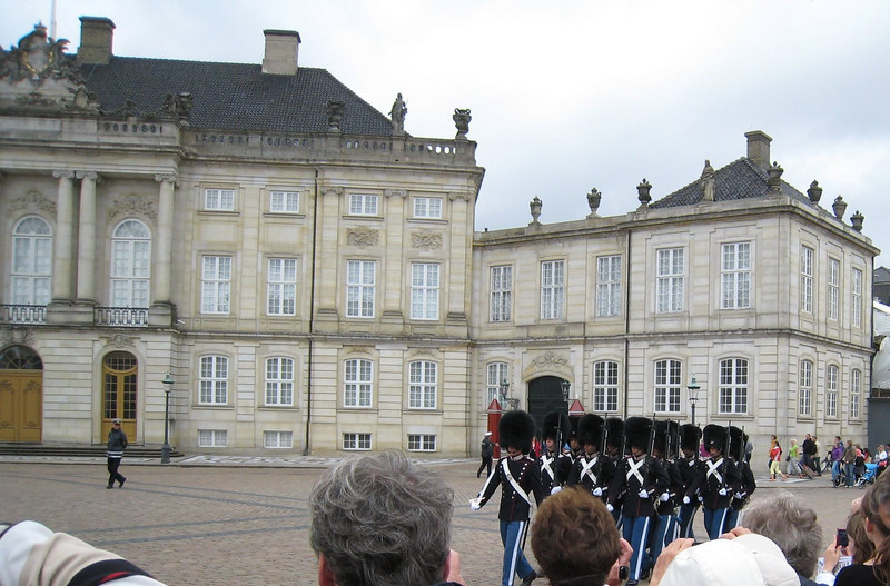 Amalienborg Palace (Queen's Palace) - Changing of the Guard