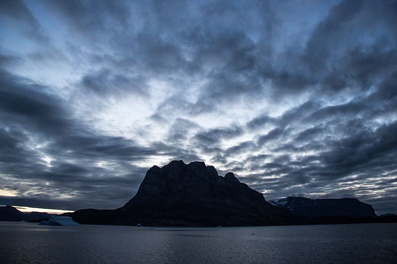 Dawn at Uummannaq