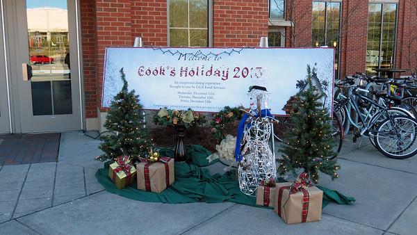 December 12, 2013:  A Cook's Holiday at UGA .  .  .
