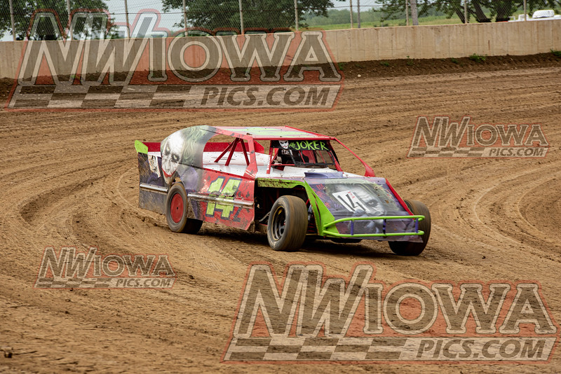 Clay County 6-30-19 Arnold Motor Supply/WIRR Stock Car- Mod Tour