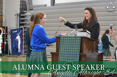 Alumna Guest Speaker - Angelle Albright '84