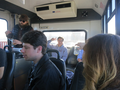 Yola Christmas Party -  Beer Bus Tour - 2013