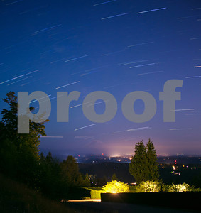 Star Trails & The Space Station