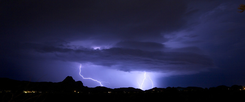 Tuscon, Arizona electrical storms