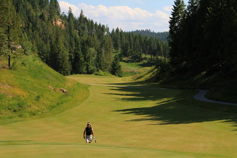 The Idaho Club, Sandpoint, ID - Hole #9