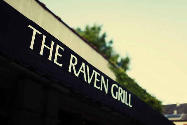Stephanie and Stephen's Dinner at the Raven Grill
