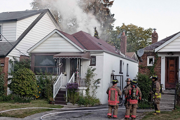 September 18, 2011 - Working Fire - 40 Craydon Ave.