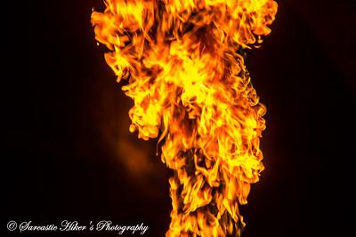 45th Adirondack Balloon Festival Candlestick Burn