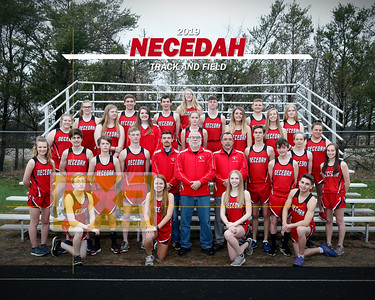 Necedah track and field TF19
