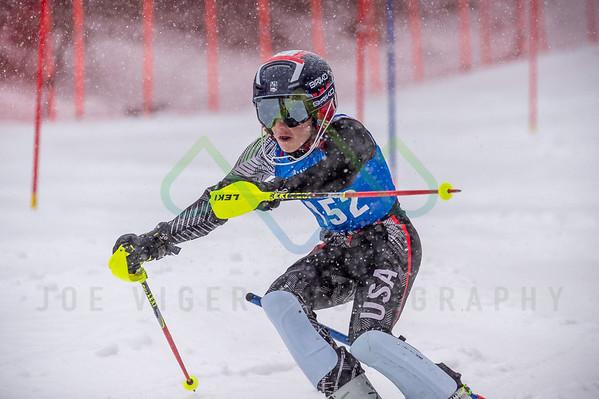 2018 Attitash u12 & u14 NHARA Division Qualifier Slalom