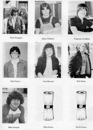 Baden Senior School 1981-1982 Partial Yearbook