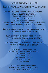 LD Bell Cheerleading Night
