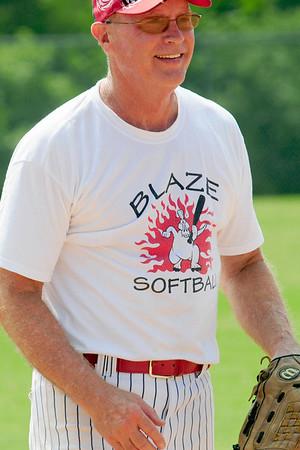 Bostonian Shoes vs Blaze Softball
