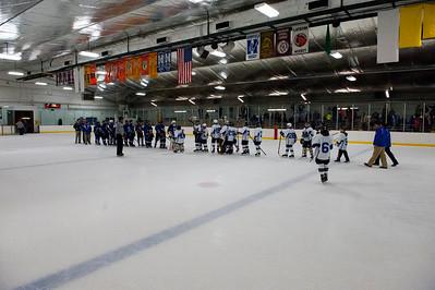 Hempfield Middle School Blue VS White