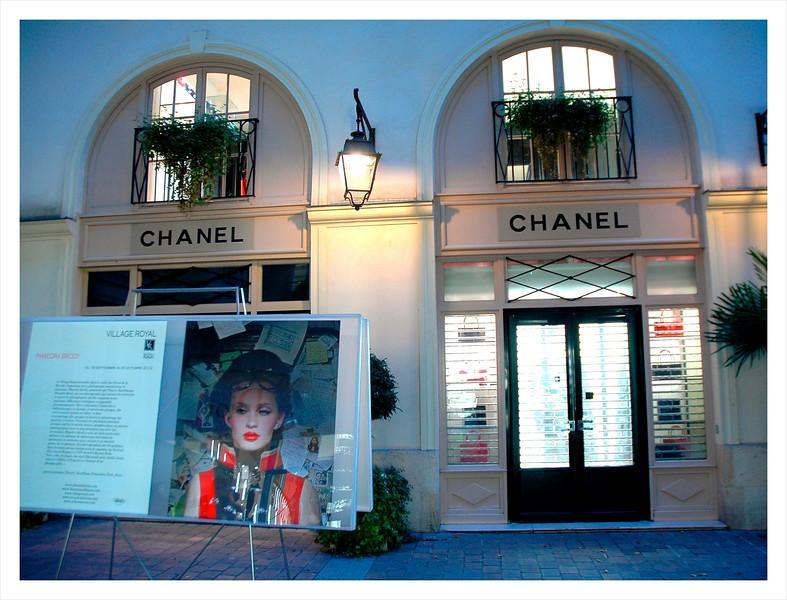 Chanel at night.JPG