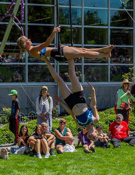 Set thirteen, UMO Aerial Show 1 at Ober Park, Vashon Island Strawberry Festival 2019
